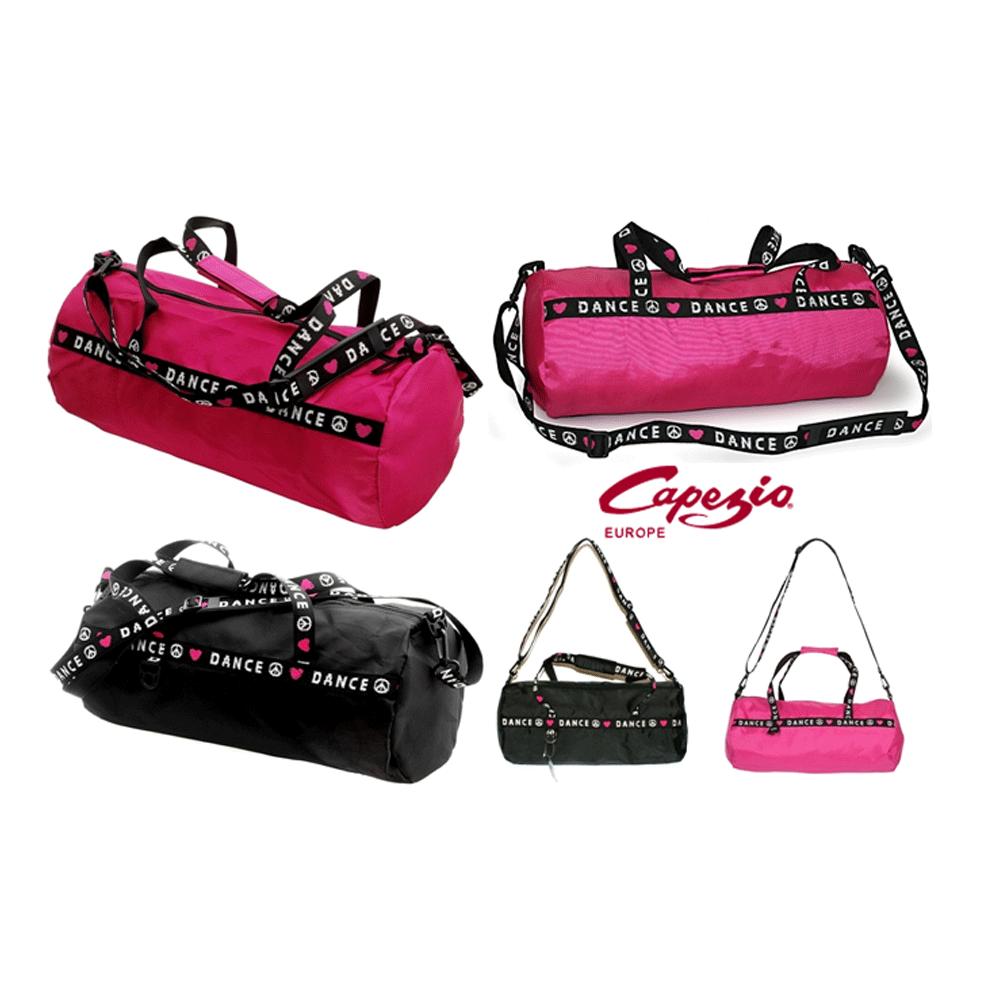 70c9cbf74 Capezio Duffle bag- Black Or Pink - Dance Store Direct