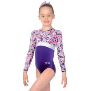 f80bbf30df3a Zone macy all over print leotard- Macy Print - Dance Store Direct